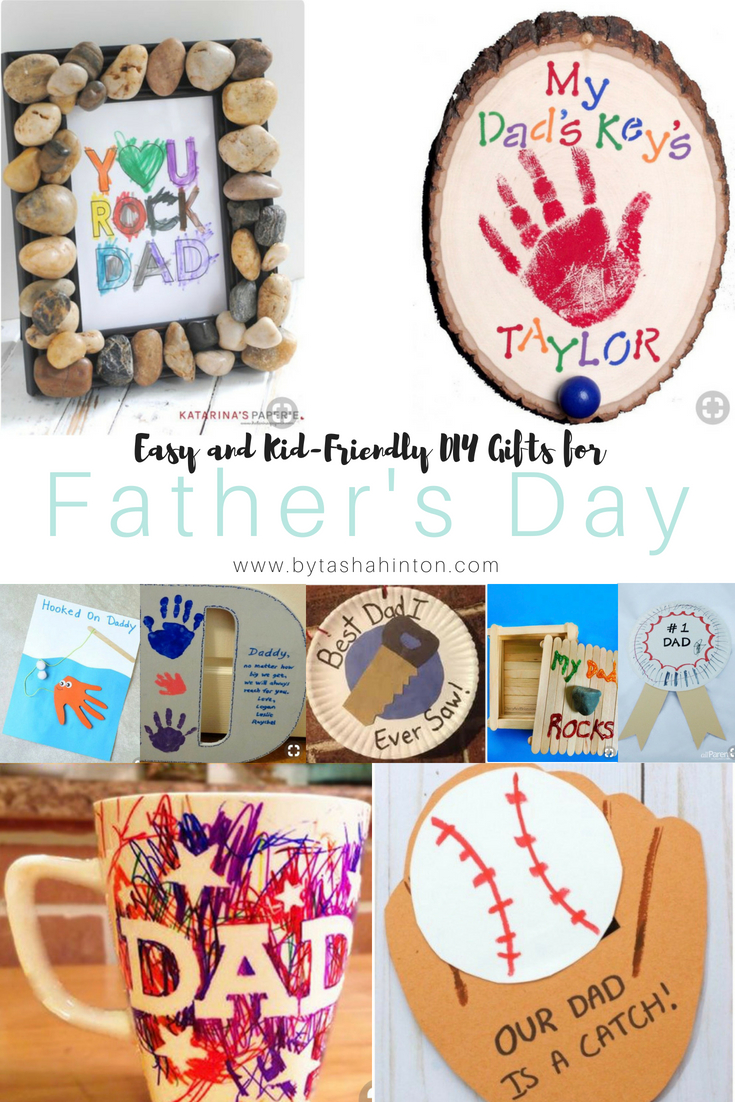 15 Easy and Kid Friendly DIY Gifts for Father's Day